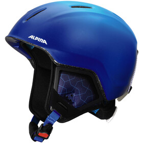 Alpina Carat XT Helm Kinderen, blue-gradient matt